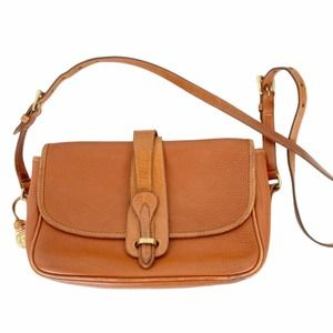 Vintage Dooney and Bourke Leather Crossbody